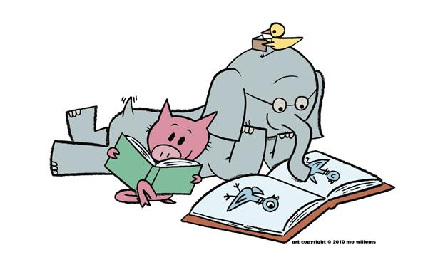 Mo Willems Reading Characters