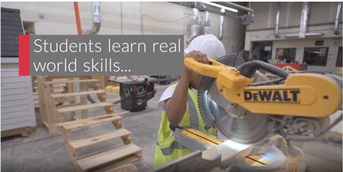 Students Learn Real World Skills