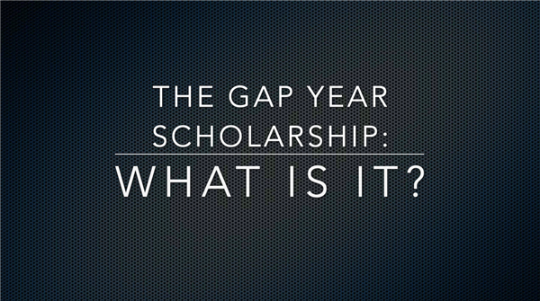 What is the Gap Year Scholarship?