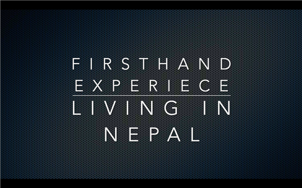 Living and Working in Nepal