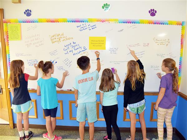 Edgar Road All School Response Board